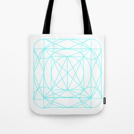 Stained Glass- Blue  Tote Bag