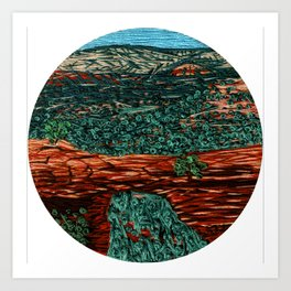 Devils Bridge Art Print