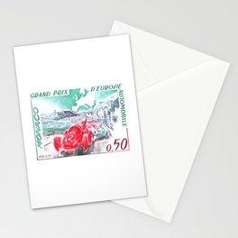 1963 Monaco Grand Prix Postage Stamp Stationery Cards