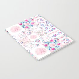 A Shabby Chic Patchwork Notebook