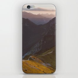 Before sunset - Landscape and Nature Photography iPhone Skin