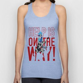 Help is on The Way Unisex Tank Top