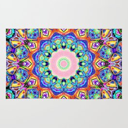Abstract Spectral Pattern Rug