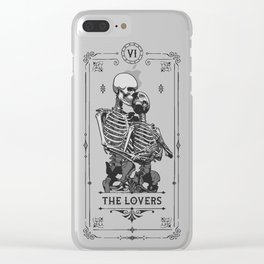 The Lovers VI Tarot Card Clear iPhone Case