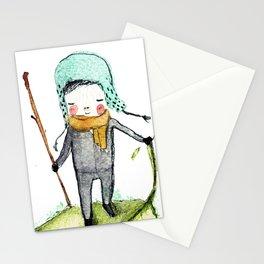 Pedro woodland people Stationery Cards