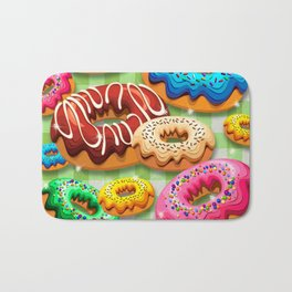 Donuts Party Time Bath Mat