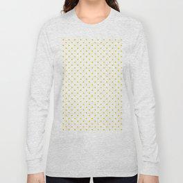 Dots (Gold/White) Long Sleeve T-shirt