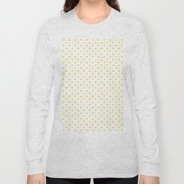 Dots (Gold/White) Long Sleeve T-shirt
