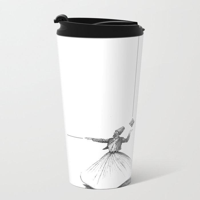 Darwish Metal Travel Mug