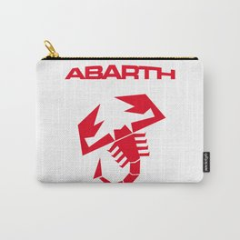 Abarth scorpion red Carry-All Pouch
