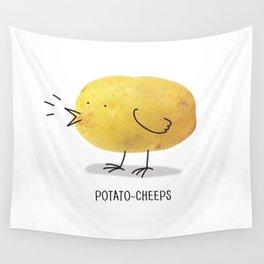 potato-cheeps Wall Tapestry