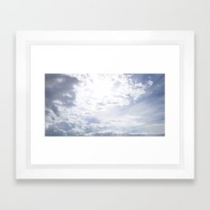 Storm Is Over Framed Art Print