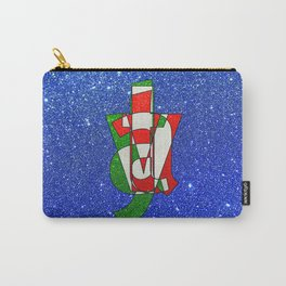 ITALY - Glitter Carry-All Pouch