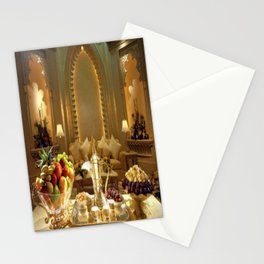 pharaoh's feast Stationery Cards