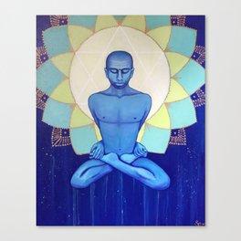 Anhata Yoga Canvas Print