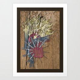 Sorrowful Heart of Mary Art Print