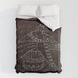 Anubis Egyptian God Duvet Cover