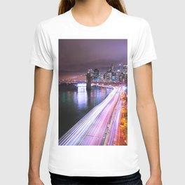 City Lights Highway T-shirt
