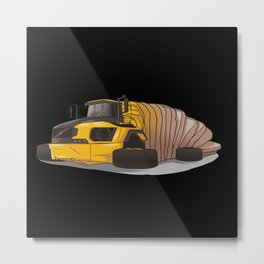 Articulated bread Metal Print