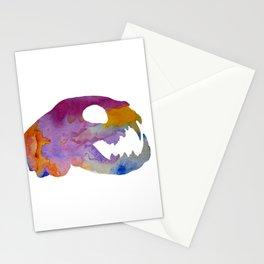 Cat Skull Art Stationery Cards