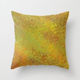 Liquid Hues Fluid Art Digital Illustration, Digital Watercolor Artwork Throw Pillow