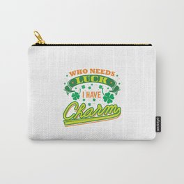 St Patricks Day Luck Charm Irish Ireland Gift Carry-All Pouch