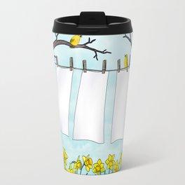 spring clean Travel Mug