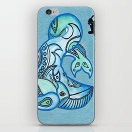 Whale Watchin' iPhone Skin