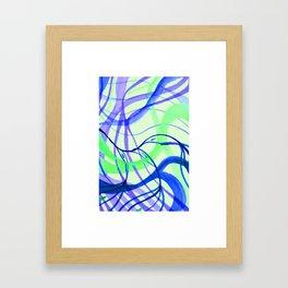 Sea Glass in Thailand Framed Art Print