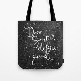 Dear Santa No. 3 Tote Bag