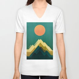 Gold Peak Unisex V-Neck