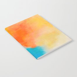 Endless Summer Abstract Painting Notebook
