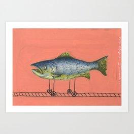 Ichtyomobil 1 Art Print