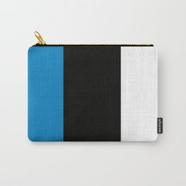 Team Colors 7...light blue, black, white Carry-All Pouch