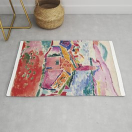 View of Collioure - Henri Matisse - Exhibition Poster Rug
