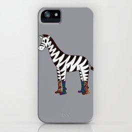 Zebra Socks iPhone Case