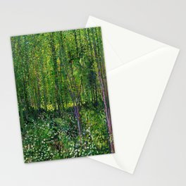 Vincent Van Gogh Trees & Underwood Stationery Cards