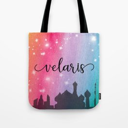 Velaris City Scape Tote Bag
