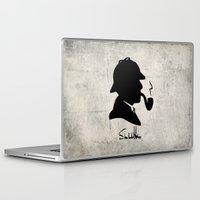 conan Laptop & iPad Skins featuring World's Greatest Detective by Irina Chuckowree