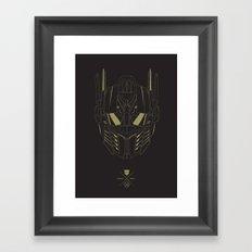 Transformers - Optimus Prime Framed Art Print