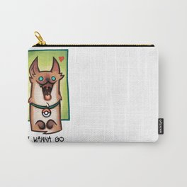 I wanna go for a walk ! Carry-All Pouch