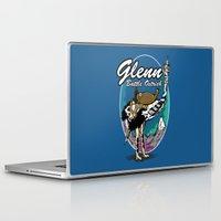 warcraft Laptop & iPad Skins featuring Glenn, Battle Ostrich by Siegeworks