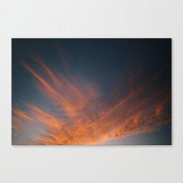 Sunset / Pignon, Haiti Canvas Print