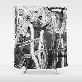 Vintage Neons Shower Curtain