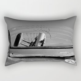 Fighter Jet Canopy Rectangular Pillow