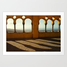 Shadows and Light - Pena Palace, Sintra Art Print
