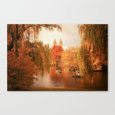 Central Park New York City Autumn Canvas Print