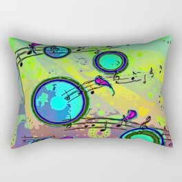 Pop Muzik Rectangular Pillow