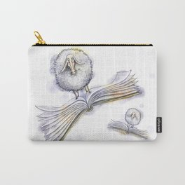Sheep on flying books Carry-All Pouch