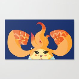 Leave it to Riki! Canvas Print
